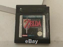 JEU The Legend Of Zelda Link's Awakening DX Game Boy Color Nintendo COMPLET