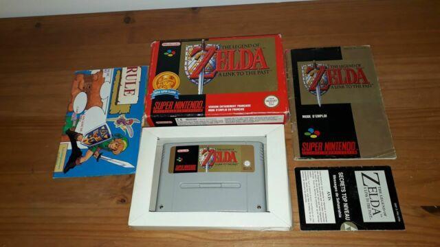 Jeu Super Nintendo Snes The Legend Of Zelda A Link To The Past Complet