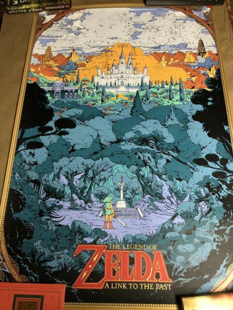 Kilian Eng Legend Of Zelda Link To The Past Print Poster Mondo Nintendo #/100
