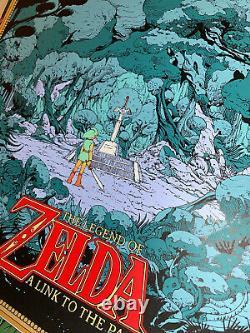 Kilian Eng The Legend Of Zelda A Link To The Past Art Print Nintendo Not Mondo