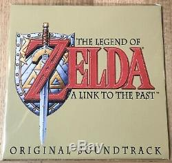 Koji Kondo The Legend Of Zelda A Link To The Past Original Soundtrack RED vinyl