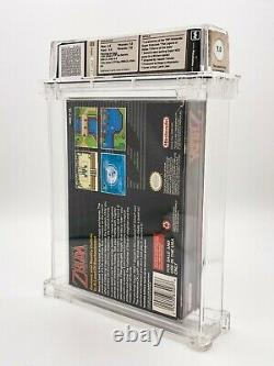 LEGEND OF ZELDA A LINK TO THE PAST WATA-Certified 7.0 CIB (Complete In Box) SNES