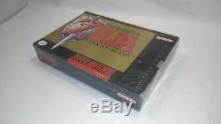 LEGEND OF ZELDA A Link To The Past ORIG ISS (Super Nintendo) FACTORY SEALED! WOW