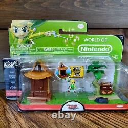 LEGEND OF ZELDA WINDWAKER Microland World of Nintendo LOT OF 7 NEW