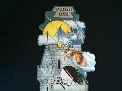LEGEND of ZELDA II the ADVENTURE of LINK RARE! PROMO DISPLAY 4-FOOT TALL