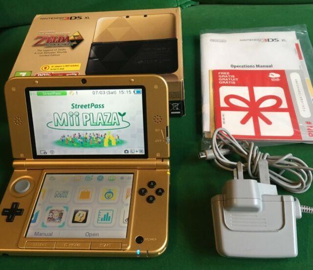 Limited Edition Nintendo 3ds Xl The Legend Of Zelda A Link Between Worlds