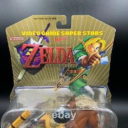 LINK Nintendo Video Game Superstars Ocarina Legend of Zelda Figure Toy Biz NEW