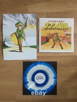 Legend Of Zelda 2 Adventure of Link Vinyl Record LP Nintendo NES OST Soundtrack
