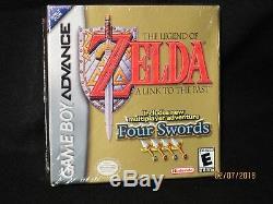 Legend Of Zelda A Link To The Past Four Swords Original Gameboy Advance Sealed