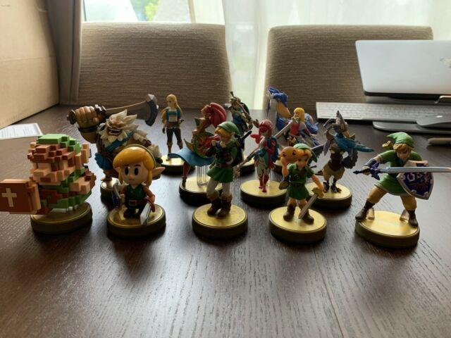 Legend Of Zelda Amiibo Lot Of 12 Botw Oot Mm Ss Tp La