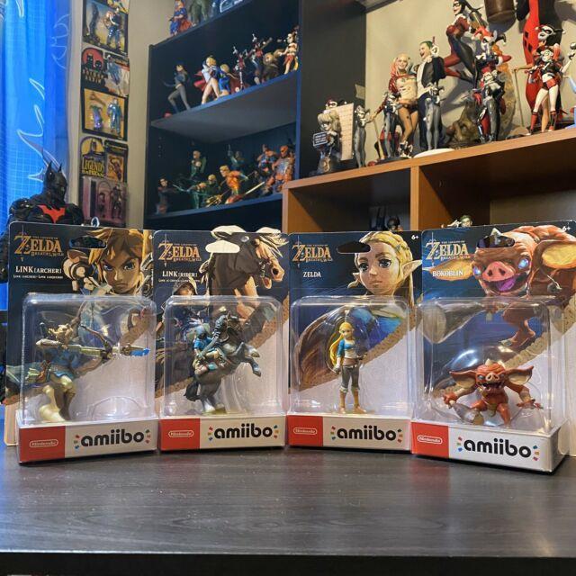 Legend Of Zelda Breath Of The Wild Amiibo Lot