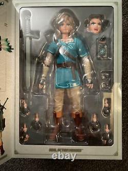 Legend Of Zelda Breath Of The Wild Link Figure Medicom Real Action Heroes