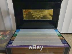Legend Of Zelda Collector's Edition Game Guides Chest Box Link Between Worlds