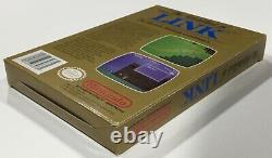 Legend Of Zelda Link Nintendo NES Box Manual Complete NICE Gold RARE