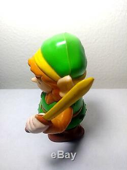 Legend Of Zelda Link Nintendo NES Nasta 1989 Wind Up Vintage Rare Toy Figure N64