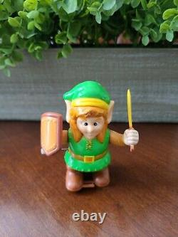 Legend Of Zelda Link Wind Up Toy Figure Rare Vintage 1989 Nintendo Nes Nasta