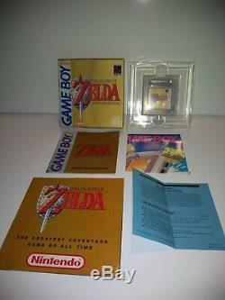 Legend Of Zelda Link's Awakening Boxed Genuine GameBoy Game PAL Original VGC UK