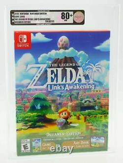 Legend Of Zelda Link's Awakening Dreamer Edition Nintendo Switch SEALED VGA80+