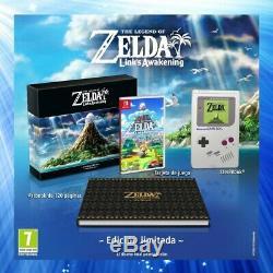Legend Of Zelda Link's Awakening Limited Edition Switch EU Import with Steelbook