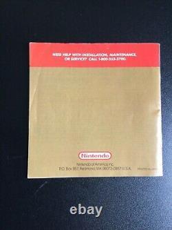 Legend Of Zelda Link's Awakening Nintendo Game Boy CIB Complete Box FIRST PRINT