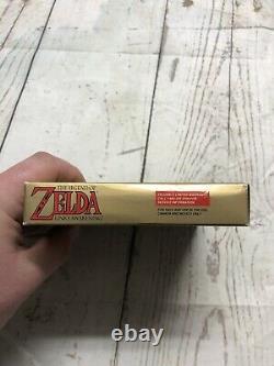 Legend Of Zelda Link's Awakening Nintendo Gameboy Box FIRST PRINT Box Only