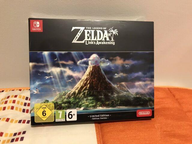 Legend Of Zelda Link's Awakening Nintendo Switch Limited Edition Eu Spain