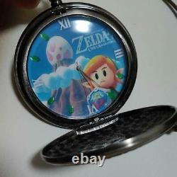 Legend Of Zelda Link's Awakening Prize pocket watch working nintendo japan