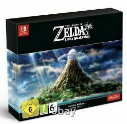 Legend Of Zelda Link's Awakening -limited Collector's Edition Sealed