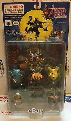 Legend Of Zelda Majora's Mask Deku Link Epoch Figure 2001 NIB RARE AUTHENTIC