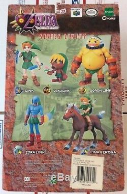 Legend Of Zelda Majora's Mask Deku Link Epoch Figure 2001 RARE NEW AUTHENTIC