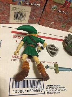 Legend Of Zelda Majora's Mask Lot Link Deku Zora Goron Link Epoch Figure 2001