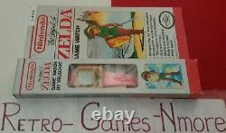 Legend Of Zelda Nelsonic Game Watch, Nintendo 1989, Pink, New, Authentic LOOK