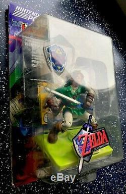 Legend Of Zelda Ocarina of Time Link Action Figure -Nintendo Power- Collectible