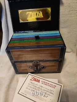Legend Of Zelda Prima Strategy Guide Box Set Collector's Edition Complete Chest