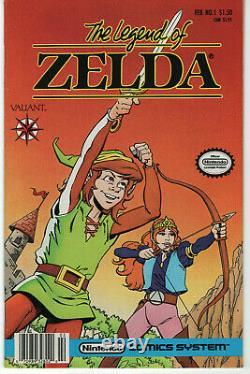 Legend of Zelda (1991) # 1 Valiant $1.50 Price Variant Nintendo System Comics NM