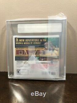 Legend of Zelda A Link Between Worlds Nintendo 3DS Sealed GEM MINT GOLD VGA 95+