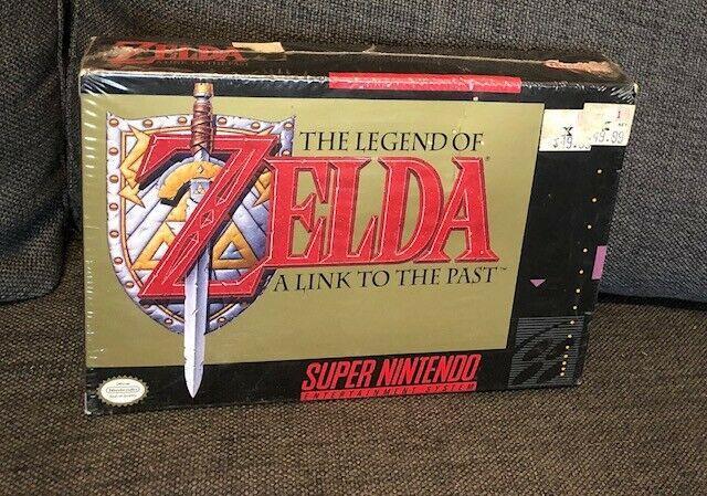 Legend Of Zelda A Link To The Past Factory Sealed Nintendo Nes Snes 1st Print