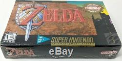 Legend of Zelda A Link To The Past Players Choice SNES Super Nintendo Brand New