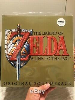 Legend of Zelda A Link To The Past Vinyl Soundtrack SNES