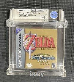 Legend of Zelda A Link To The Past Wata 7.5 A+ Sealed Gameboy Advance Nintendo