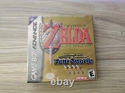 Legend of Zelda A Link to the Past Four Swords Game Boy Advance Complete Sealed