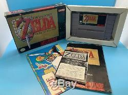Legend of Zelda A Link to the Past SNES CIB (Box, Cart, Manual, Map, Sticker)