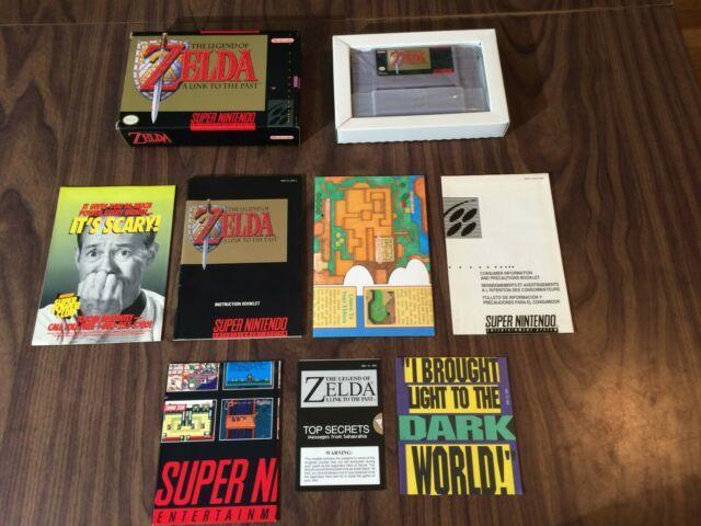 Legend Of Zelda A Link To The Past (super Nintendo, Snes) Complete Authentic