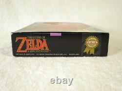 Legend of Zelda A Link to the Past Super Nintendo SNES Complete in Box CIB