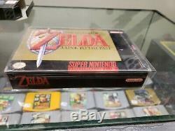Legend of Zelda A Link to the Past (Super Nintendo, SNES) Complete in Box / CIB