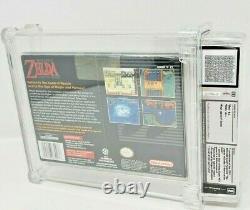 Legend of Zelda A Link to the Past Super Nintendo SNES Sealed MINT VGA WATA LTTP
