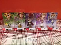 Legend Of Zelda Amiibo Lot Link Zelda Sheik Ganondorf