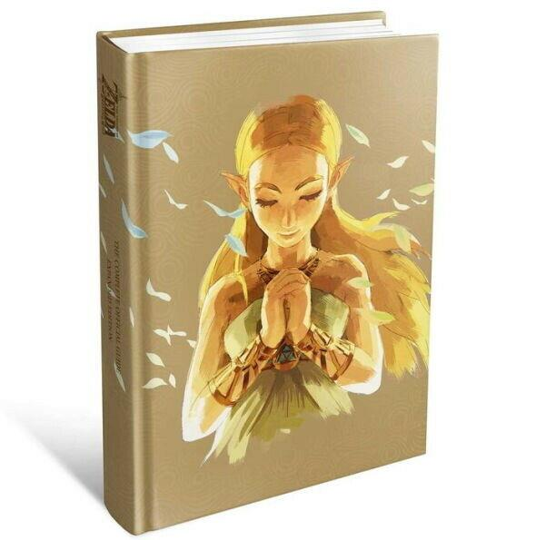 Legend Of Zelda Breath Of The Wild Complete Official Strategy Guide Expanded Ed