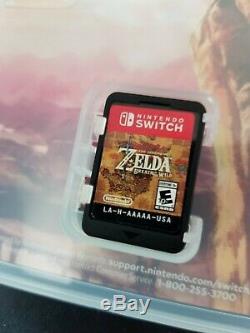 Legend of Zelda Breath of the Wild + Link's Awakening (Nintendo Switch) LOT