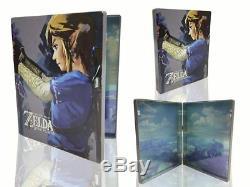 Legend of Zelda Breath of the Wild Steel Book Container Nintendo Switch Link